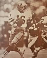 JOE MONTANA #16  SAN FRANCISCO 49 er's