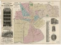 Vintage Map of Newark NJ (1879)