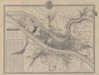 Vintage Map of Lyon France (1854)