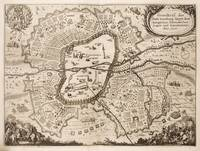 Vintage Map of Nuremberg Germany (1642)