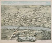 Vintage Pictorial Map of Waco Texas (1873)
