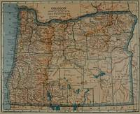 Vintage Map of Oregon (1921)