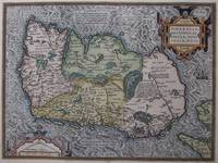 Vintage Map of Ireland (1592)
