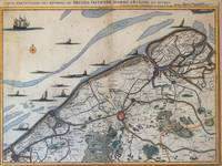 Vintage Map of Bruges Belgium (17th Century)