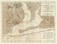 Vintage Map of Pensacola Florida (1780)