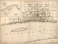 Vintage Map of Philadelphia Pennsylvania (1776)