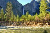 Bridalveil Fall and the Merced