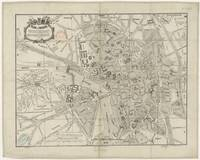 Vintage Map of Toulouse France (1844)