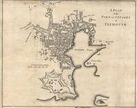 Vintage Map of Plymouth England (1765)