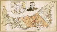Vintage Map of Prince Edward Island (1775)