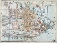 Vintage Map of Quebec City (1894)