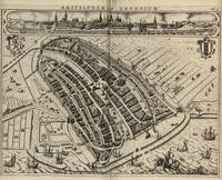 Vintage Map of Amsterdam (1614)