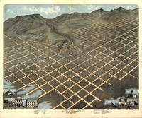Vintage Pictorial Map of Salt Lake City (1870)