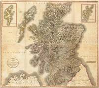 Vintage Map of Scotland (1801)