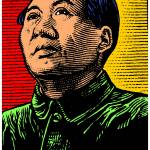 """Mao Zedong (Colour)"" by thegriffinpassant"