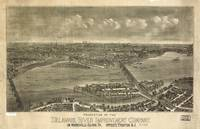 Vintage Pictorial Map of Trenton NJ (1900)