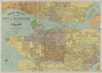 Vintage Map of Vancouver Canada (1920)