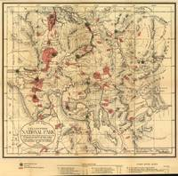 Vintage Map of Yellowstone National Park (1881)