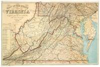 Vintage Map of Virginia (1863)