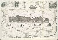 Vintage Map of The White Mountains (1871)