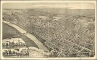 Vintage Pictorial Map of Wilkes-Barre PA (1889)