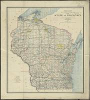 Vintage Map of Wisconsin (1895)