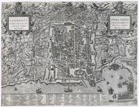 Vintage Map of Palermo Italy (1581)