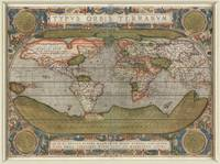 Vintage Map of The World (1608)