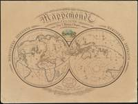 Vintage Map of The World (1839)