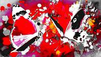 Abstract Butterfly Art 25