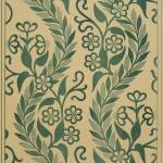"""Light Green Leafy Vines Design"" by Alleycatshirts"