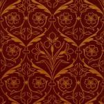 """Orange and Red Decorative Spring Flower Design"" by Alleycatshirts"