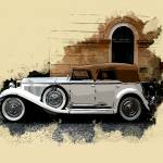 """1929 DuPont Model G Speedster I"" by ElainePlesser"
