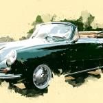 """""""1963 Porsche 356"""" by ElainePlesser"""
