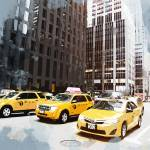 """NYC Taxi Fleet"" by ElainePlesser"