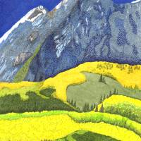Mount Sneffels Art Prints & Posters by Judy Newcomb