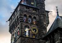 The Clock Tower of Cardiff