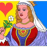 """""""QUEEN OF HEARTS"""" by thegriffinpassant"""