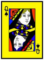 QUEEN OF SPADES (LARGE)-2