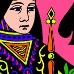 """""""QUEEN OF SPADES"""" by thegriffinpassant"""