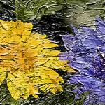 """""""20a Abstract Floral Painting Digital Expressionism"""" by Ricardos"""