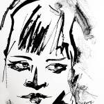 """""""Black In Simple Portrait Glances"""" by GinetteCallaway"""