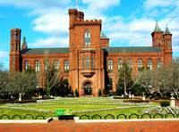 Smithsonian Castle on Mall