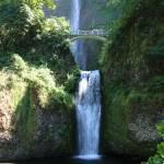 """Lower Multnomah Falls"" by Groecar"
