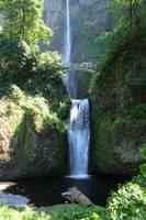 Lower Multnomah Falls by Carol Groenen