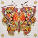"""tribal butterfly"" by federicocortese"