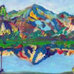 """Palm Springs San Jacinto Reflection"" by RDRiccoboni"