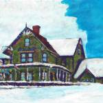 """""""Victorian house in winter"""" by RDRiccoboni"""