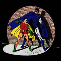 Batman and Robin in the Spotlight