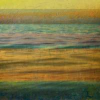 After the Sunset - Yellow Sky Art Prints & Posters by Michelle Calkins